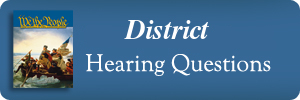 hearingquestions es district